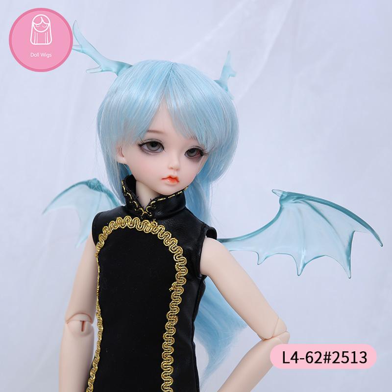[해외]Wig For BJD Doll  size 7-8inch 1/4 high-temperature handmade wig long hair bjd sd doll Wigs in beauty  /Wig For BJD Doll  size 7-8inch 1/4 high-te