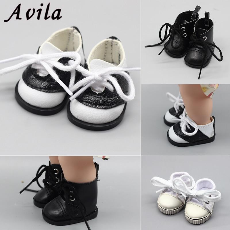 [해외]1pair 5CM Canvas Doll Shoes for 1/6 Scale Dolls,Lovely BJD Doll Boots for Russian Doll Accessories /1pair 5CM Canvas Doll Shoes for 1/6 Scale Doll