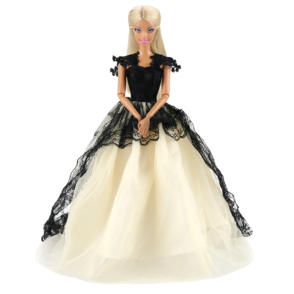 [해외]Evening Dress Party Wedding For Barbie Clothes Our Generation Doll Fashion White Dolls Outfits 1/6 Accessories For Making Doll/Evening Dress Party