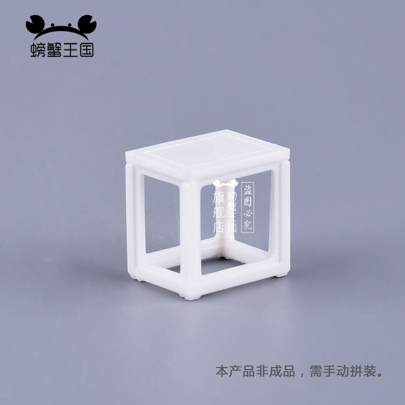 [해외]10pcs 1:25 Dollhouse mini Furniture Miniature Doll Accessories Chinese Style Plastic Square Bench Chair/10pcs 1:25 Dollhouse mini Furniture Miniat