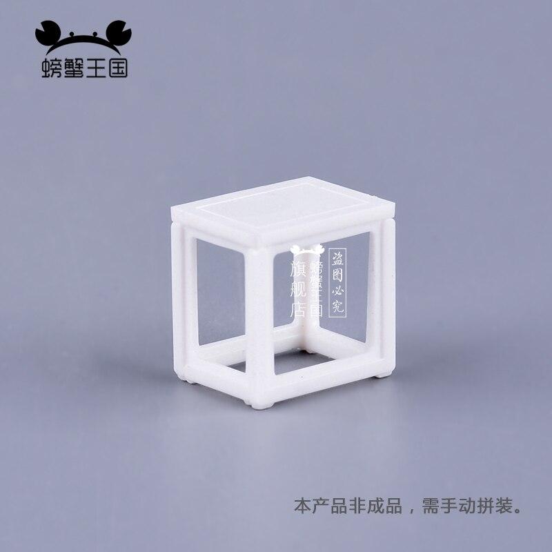 [해외]10pcs 1:25 Dollhouse mini Furniture Miniature Doll Accessories Chinese Style Plastic Square Bench Chair/10pcs 1:25 Dollhouse mini Furniture Miniat