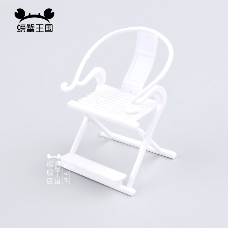 [해외]5pcs 1:25 Dollhouse mini Furniture Miniature Doll Accessories Chinese Style Plastic Armchair/5pcs 1:25 Dollhouse mini Furniture Miniature Doll Acc