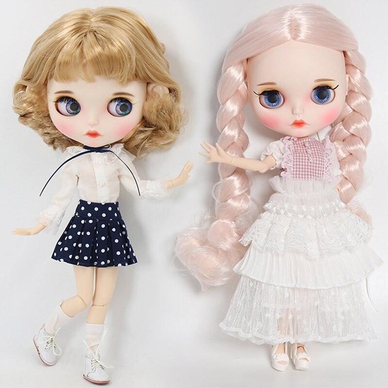 [해외]Outfit for Blyth doll Lace dress elegant and cute suit 1/6 bjd icy,jerryberry,pullip,licca/Outfit for Blyth doll Lace dress elegant and cute suit