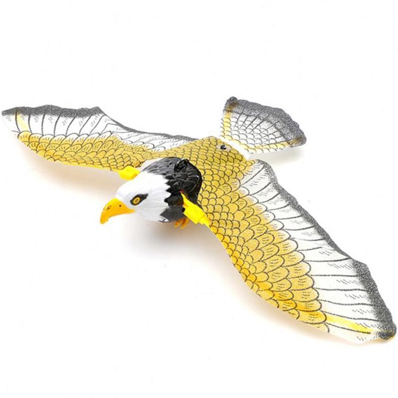 [해외]전기 비행 조류 장난감 교수형 와이어 독수리 플라스틱 chrismas/전기 비행 조류 장난감 교수형 와이어 독수리 플라스틱 chrismas