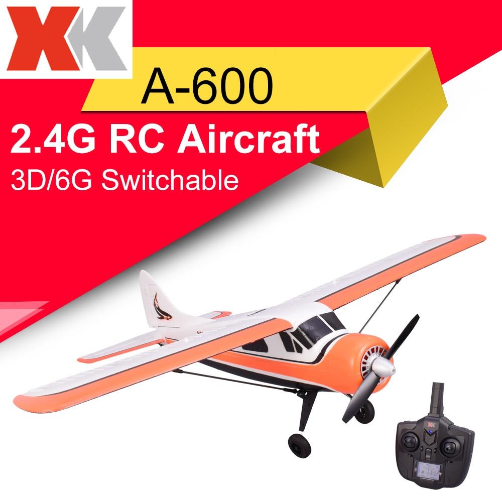 [해외]XK DHC-2 A600 2.4G 4CH Brushless 3D6G System RC Airplane 6 Axis Glider Remote CompatibleFUTABA S-FHSS Aircraft RC Glider/XK DHC-2 A600 2.4G 4CH Br
