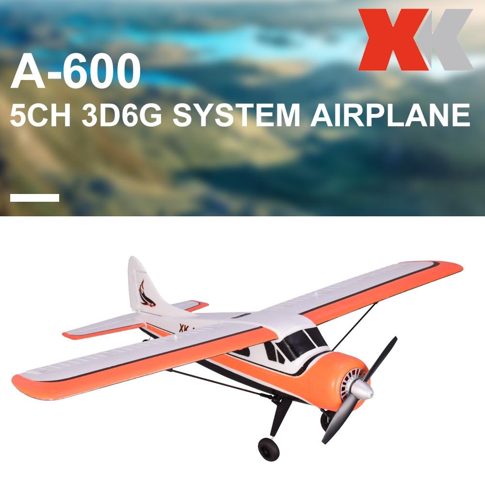 [해외]XK DHC-2 A600 Wltoys X4 Transmitter 2.4G 5CH Brushless 3D6G System Airplane CompatibleFUTABA S-FHSS Aircraft RC Glider RTF/XK DHC-2 A600 Wltoys X4