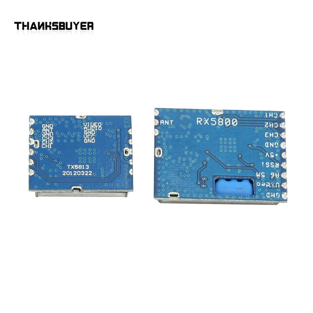 [해외]5.8G 20mw Wireless AV Transmitter Module+5.8G Video AV Receiver Set for FPV System/5.8G 20mw Wireless AV Transmitter Module+5.8G Video A
