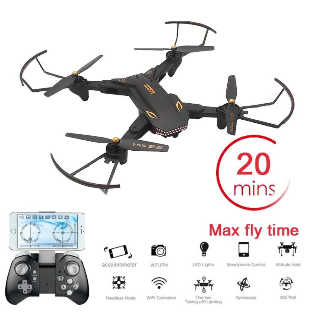[해외]Visuo xs809s 상어 dron 720 p wifi fpv 와이드 앵글 hd 카메라 foldable rc 드론 quadcopter rtf 헬리콥터 완구 vs e58 sg106/Visuo xs809s 상어 dron 720 p wifi fpv