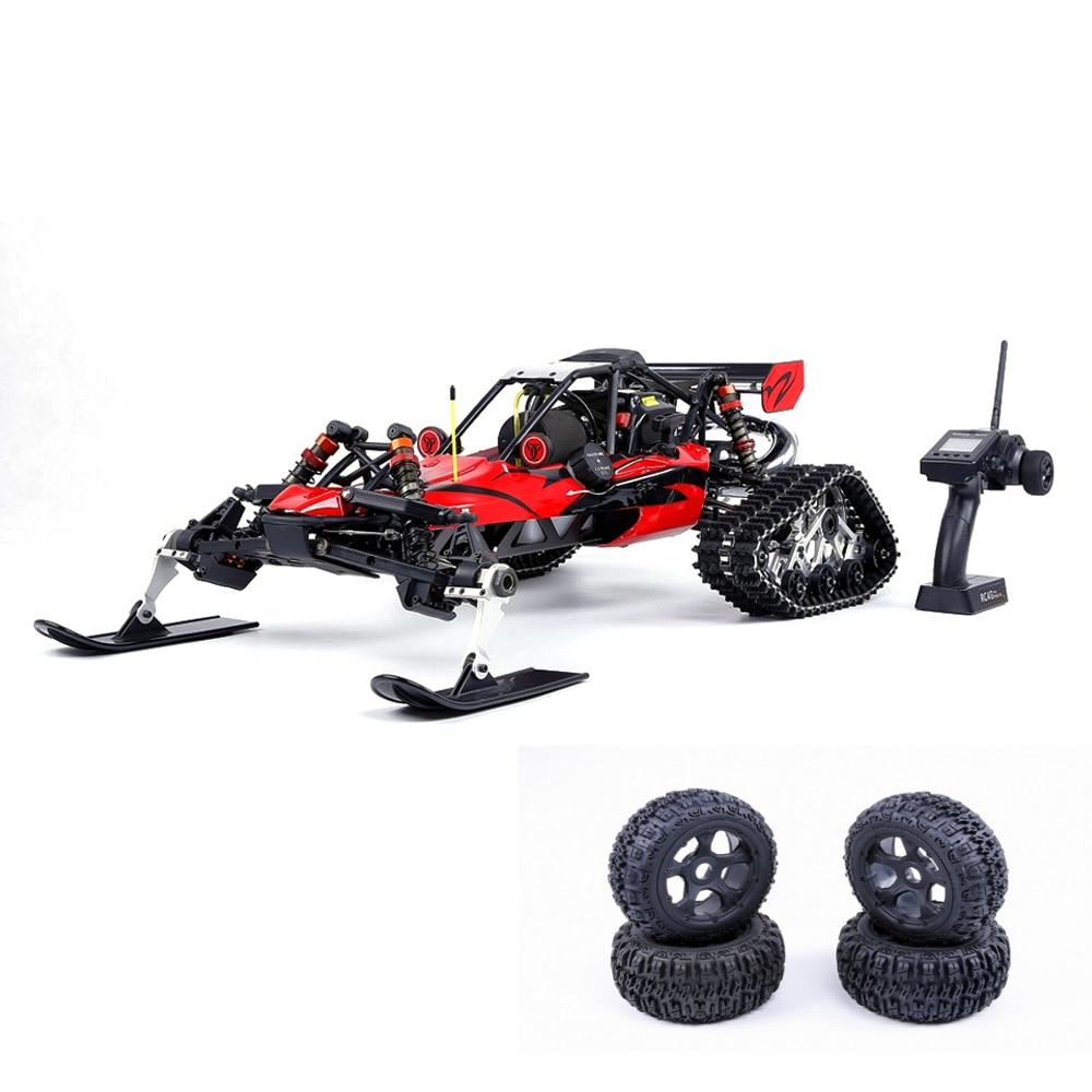 [해외]Rovan baja305as 1/5 2.4g rwd 스노우 버기 rc 자동차 30.5cc 엔진 추적 + 라운드 휠 rtr 장난감/Rovan baja305as 1/5 2.4g rwd 스노우 버기 rc 자동차 30.5cc 엔진 추적 + 라운드 휠