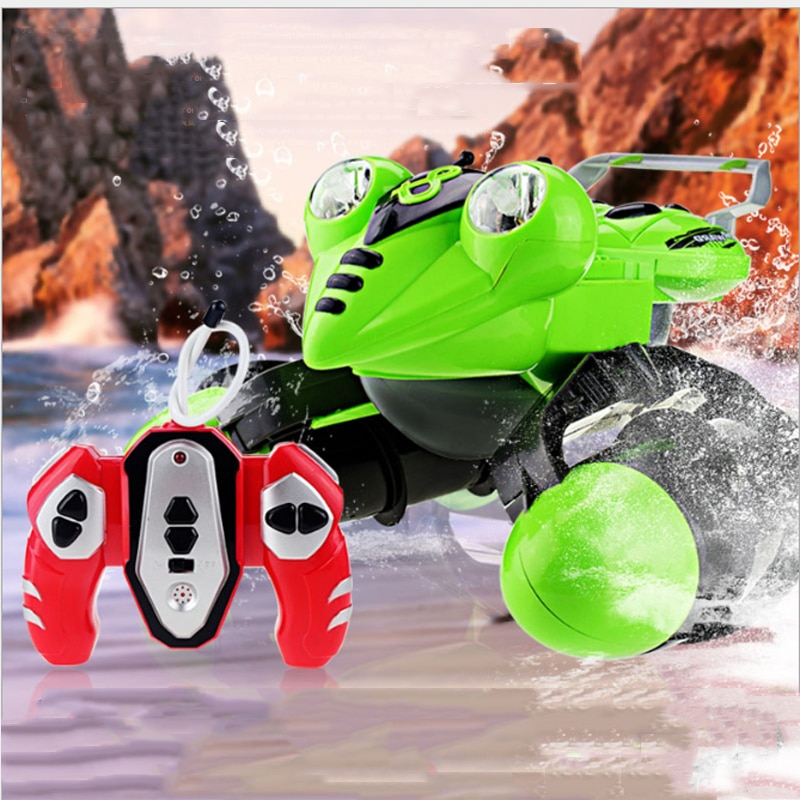 [해외]Amphibious remote control car ATV amphibious ship amphibious off-road vehicle electric remote control car children`s toys /Amphibious remote contr