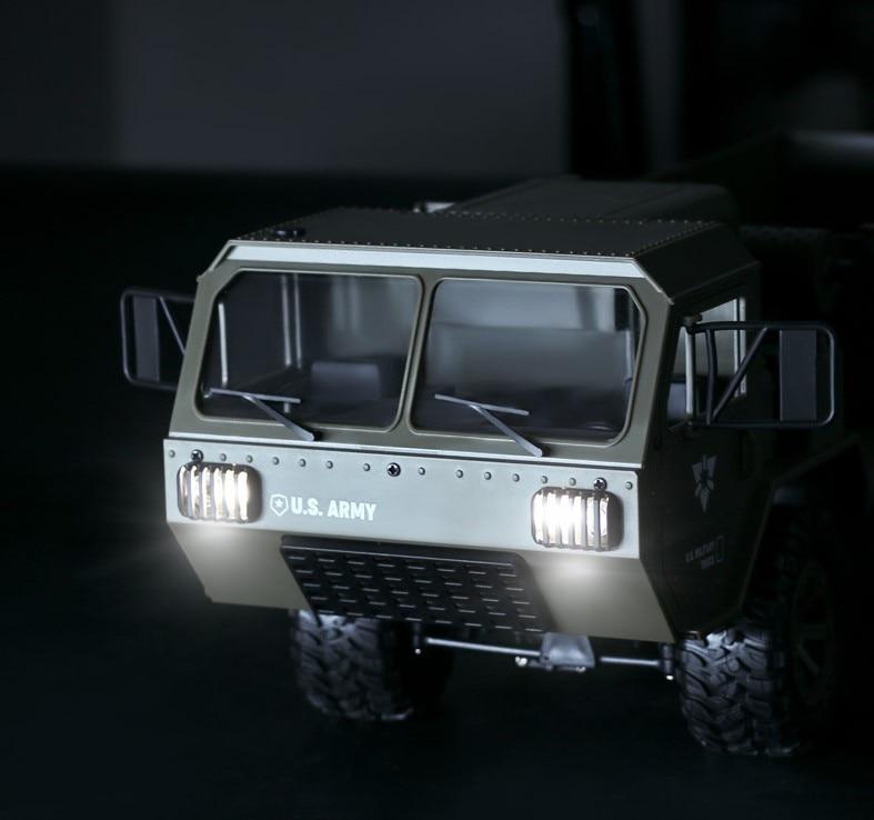[해외]미 육군 군사 rc 트럭 1:16 2.4g 6wd 락 크롤러 명령 통신 차량 완구 오프로드 rtr/미 육군 군사 rc 트럭 1:16 2.4g 6wd 락 크롤러 명령 통신 차량 완구 오프로드 rtr