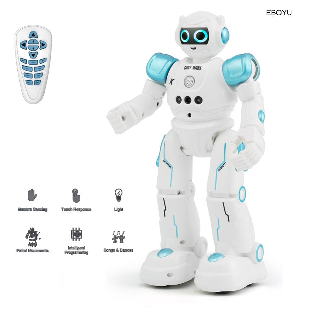 [해외]Jjr/c jjrc r11 cady wike 지능형 rc 로봇 원격 제어 프로그래밍 가능한 제스처 센서 어린이를위한 음악 댄스 장난감/Jjr/c jjrc r11 cady wike 지능형 rc 로봇 원격 제어 프로그래밍 가능한 제스처 센서 어린이