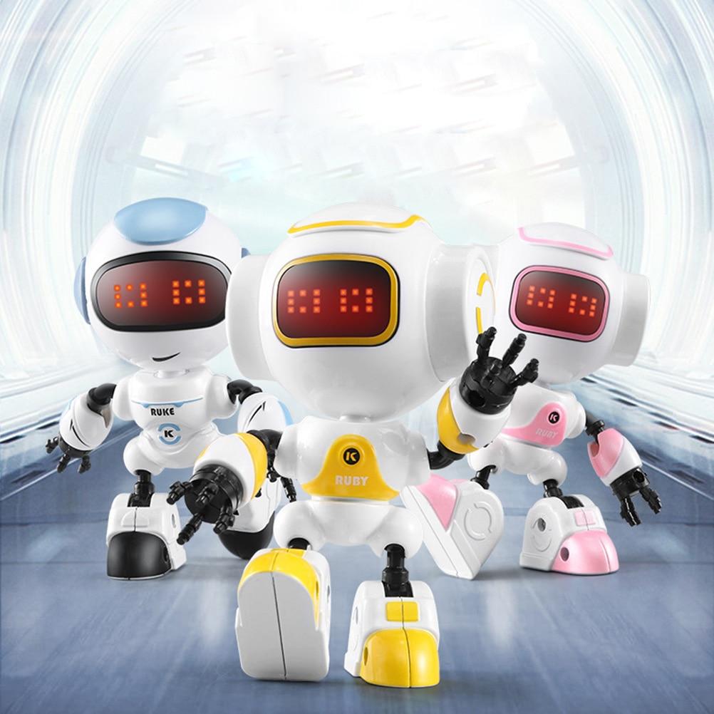 [해외]원격 제어 로봇 스마트 어린이 rc 로봇 노래 댄스 액션 그림 장난감 터치 감지 diy 바디 제스처 모델 장난감