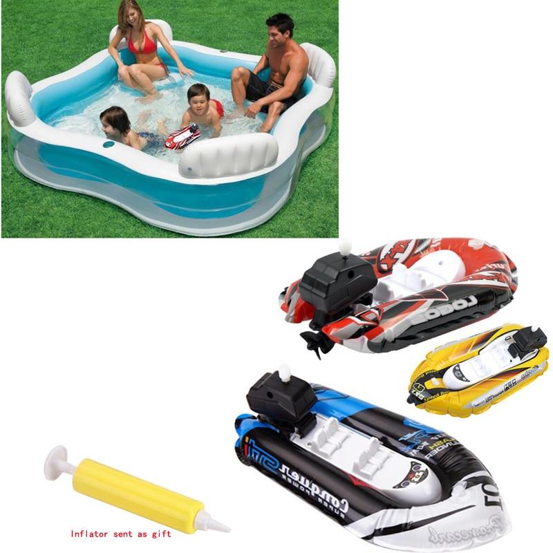 [해외]새로운 어린이 퍼즐 모델 장난감 체인 호버크라프트 물 풍선 보트 장난감/새로운 어린이 퍼즐 모델 장난감 체인 호버크라프트 물 풍선 보트 장난감