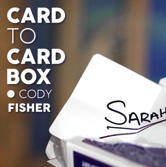 [해외]코디 피셔 매직 트릭으로 카드 상자에 카드/코디 피셔 매직 트릭으로 카드 상자에 카드