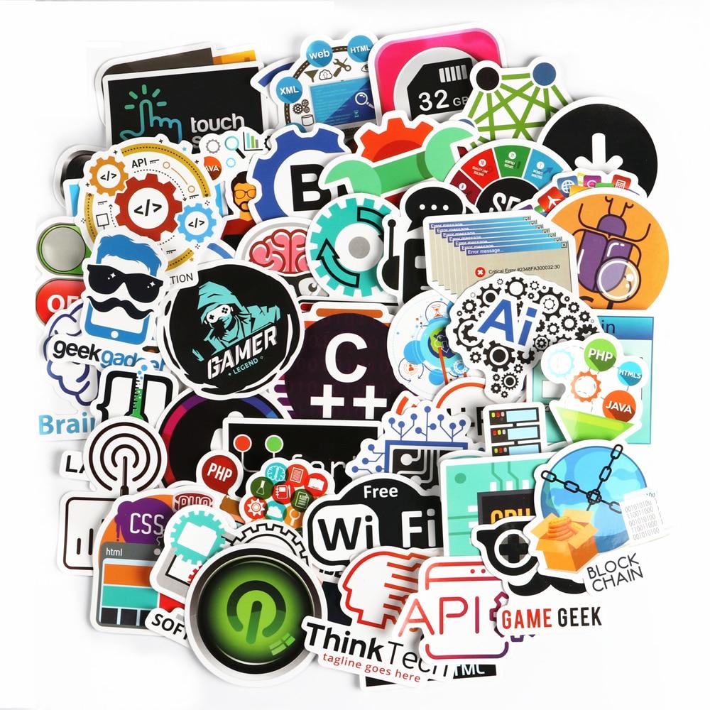 [해외]50 pcs 프로그래밍 언어 스티커 it 인터넷 html 소프트웨어 방수 스티커 긱 해커 개발자 diy 노트북 전화에 대 한/50 pcs 프로그래밍 언어 스티커 it 인터넷 html 소프트웨어 방수 스티커 긱 해커 개발자 diy 노트북 전화에