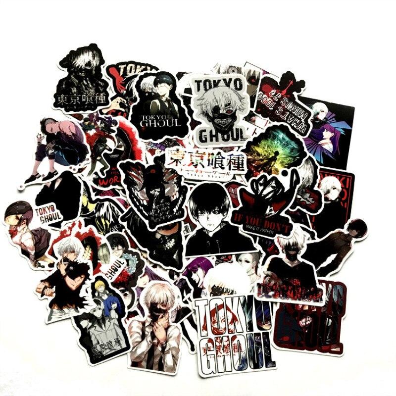 [해외]Horror Stickers Tokyo Ghoul Anime Sticker Pack Skateboard Laptop Scrapbook Suitcase Graffiti Motorcycl Waterproof Funny Stickers/Horror Stickers T
