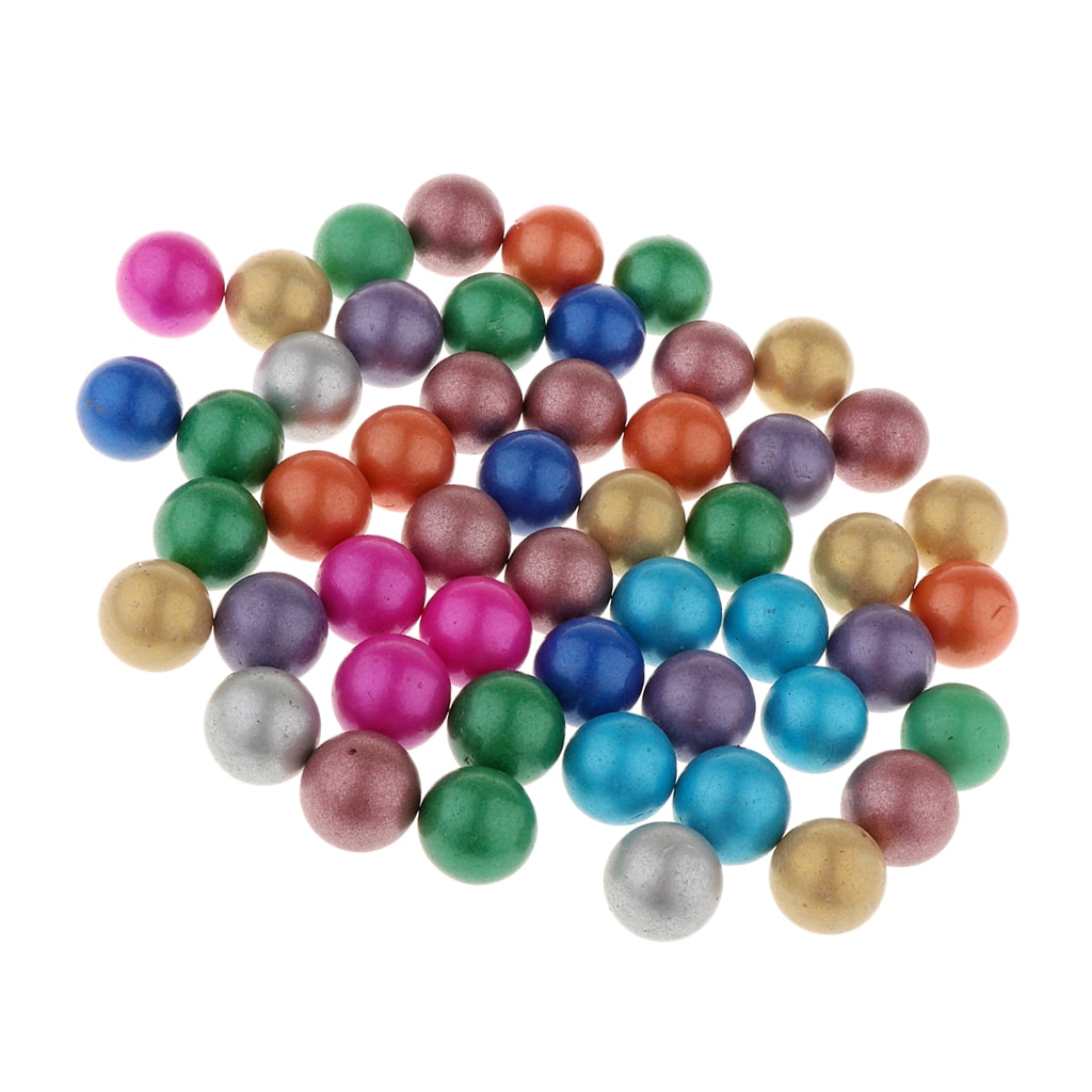 [해외]Set Of 90 Marbles Ball Glass Bead for Chinese Checkers Game Toy Multicolored 90 pieces glass marbles in white  red, black,/Set Of 90 Mar