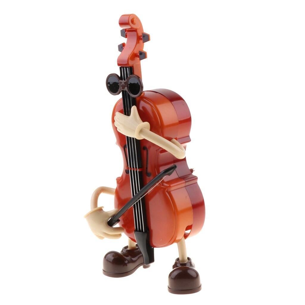 [해외]소설 바이올린 스타일 뮤직 박스, 바람 스윙 & 춤 바이올리니스트 인형 뮤지컬 박스 장난감 홈 장식 용품/소설 바이올린 스타일 뮤직 박스, 바람 스윙 & 춤 바이올리니스트 인형 뮤지컬 박스 장난감 홈 장식 용품