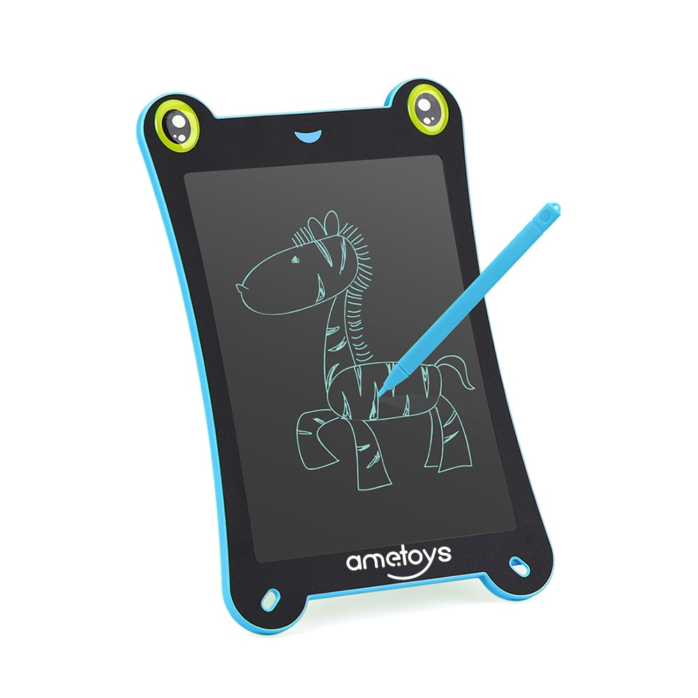 [해외]Ametoys 8.5-Inch LCD Writing Tablet Drawing Tablet and HandWriting Board Office ultra-thin Board Note-taking Great Gift for Kids/Ametoys 8.5-Inch