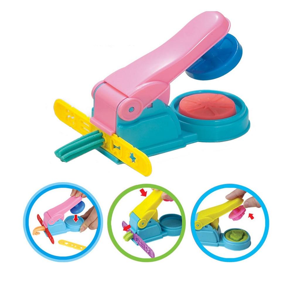 [해외]컬러 플레이 반죽 모델 도구 완구 크리 에이 티브 3d plasticine 도구 playdough 세트 클레이 금형 디럭스 세트, 학습 교육 완구