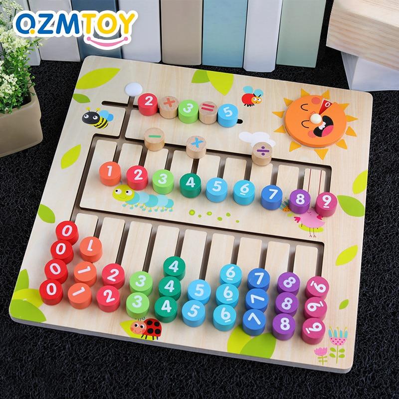[해외]어린이 장난감 유치원 나무 몬테소리 완구 디지털 수학 아기 조기 교육 완구 교육 보조 어린이를위한 수학 장난감/어린이 장난감 유치원 나무 몬테소리 완구 디지털 수학 아기 조기 교육 완구 교육 보조 어린이를위한 수학 장난감