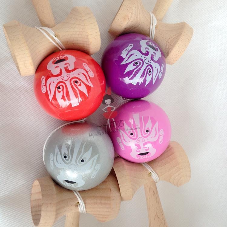 [해외]100pcs Pearlescent pu paint tips ball kendama Professional game top quality  Dragon face two side/100pcs Pearlescent pu paint tips ball kendama Pr