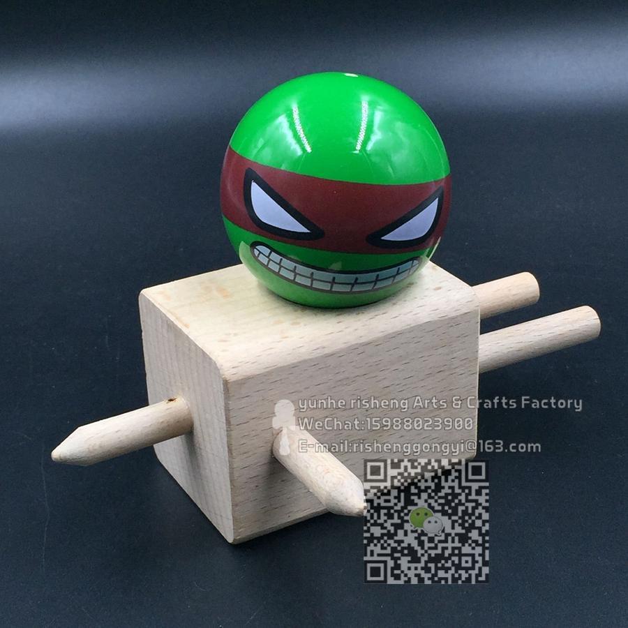 [해외]100 pcs kendama pu 페인트 공 로봇 닌자 일반 전문 게임/100 pcs kendama pu 페인트 공 로봇 닌자 일반 전문 게임