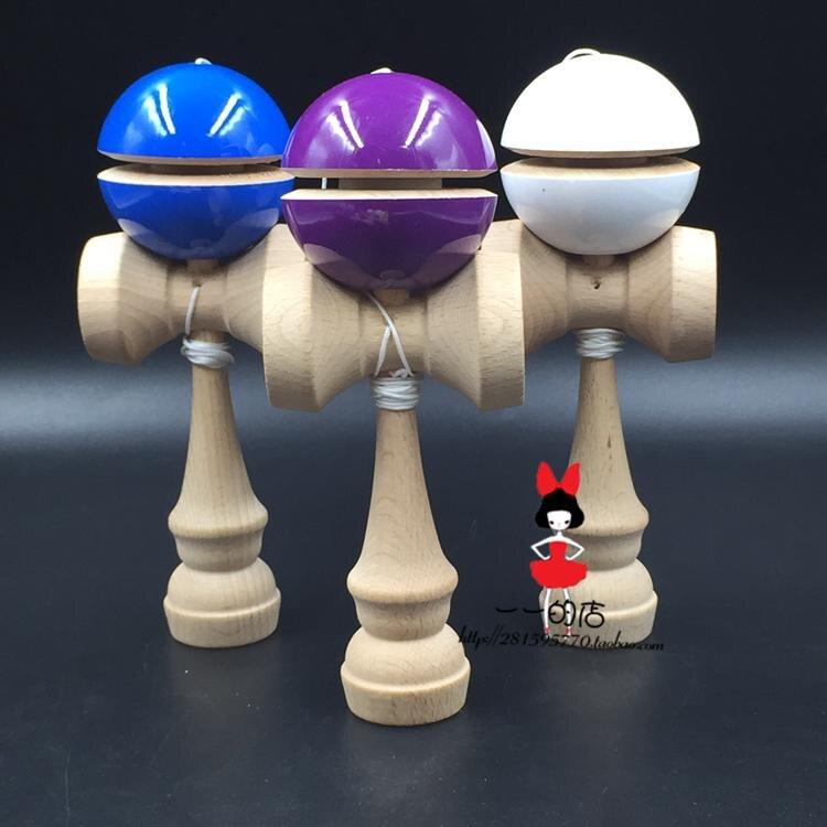 [해외]new  100pcs  IP wholesale yoyo  pu paint   ball balanced professional skills jade puzzle  sword exercise kendama/new  100pcs  IP wholesale yoyo  p