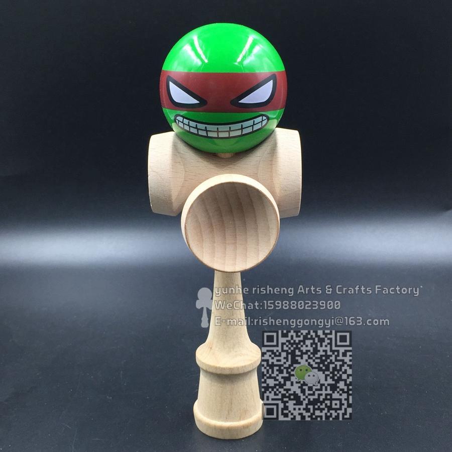 [해외]20pcs kendama  pu paint ball  ninja  kendama professional game 5 cup/20pcs kendama  pu paint ball  ninja  kendama professional game 5 cup