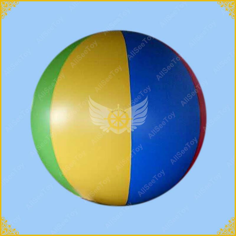 [해외]6.5ft Inflatable Beach Ball Helium Balloon for  Advertisement,Giant Balloon Different colors for your selection./6.5ft Inflatable Beach Ball Heliu