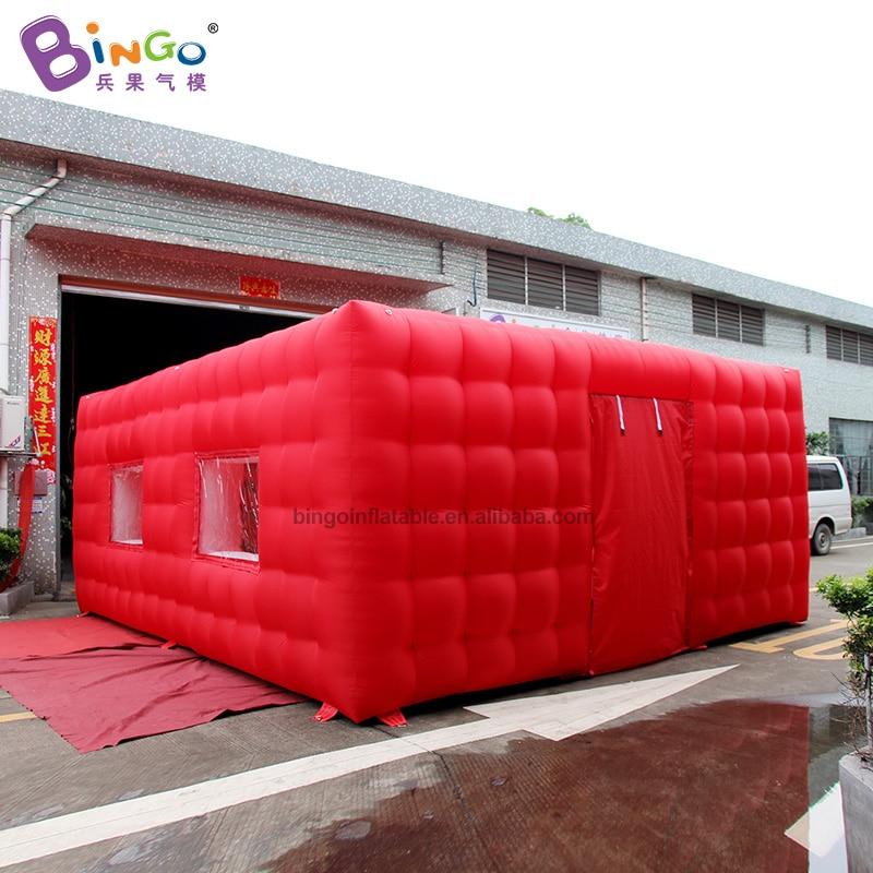 [해외]개인화 된 빨간색 외관 흰색 인테리어 6x5.2x2.5 미터 풍선 콘크리트 텐트/공기 텐트 풍선 장난감 텐트/개인화 된 빨간색 외관 흰색 인테리어 6x5.2x2.5 미터 풍선 콘크리트 텐트/공기 텐트 풍선 장난감 텐트