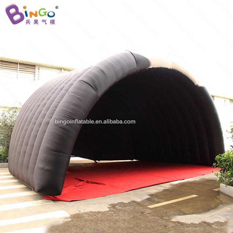 [해외]Personalized black 8x6x5 meters Inflatable Stage Tent / Inflatable Stage Cover toy tent/Personalized black 8x6x5 meters Inflatable Stage