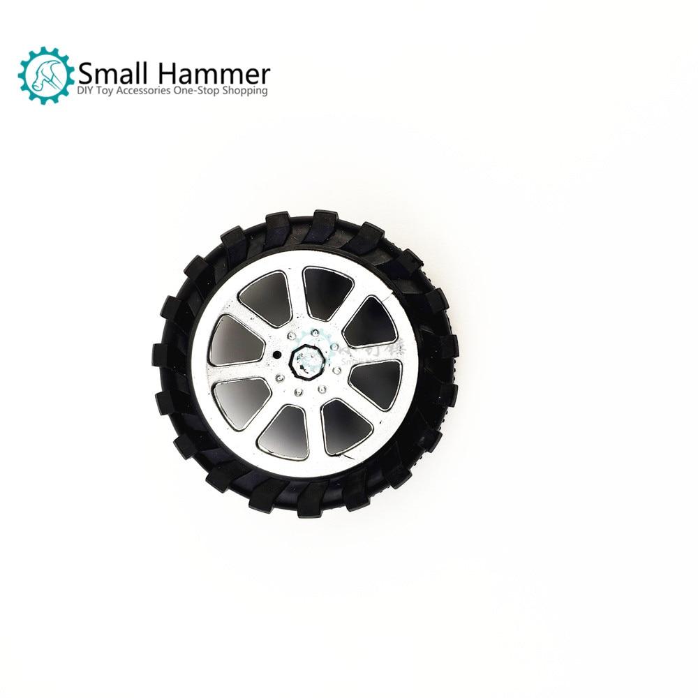 [해외]10 pcs 장난감 바퀴 3*55mm 플라스틱 바퀴 뜨거운 염색 된 바퀴 장난감 부속품 diy 4wd/10 pcs 장난감 바퀴 3*55mm 플라스틱 바퀴 뜨거운 염색 된 바퀴 장난감 부속품 diy 4wd