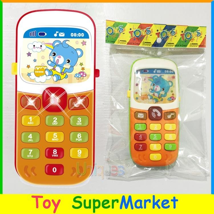 [해외]아이 장난감 핸드폰 휴대 전화 조기 교육 학습 장난감 기계 음악 장난감 전기 전화 모델 기계 아이를위한 최고의 선물/아이 장난감 핸드폰 휴대 전화 조기 교육 학습 장난감 기계 음악 장난감 전기 전화 모델 기계 아이를위한 최고의 선물