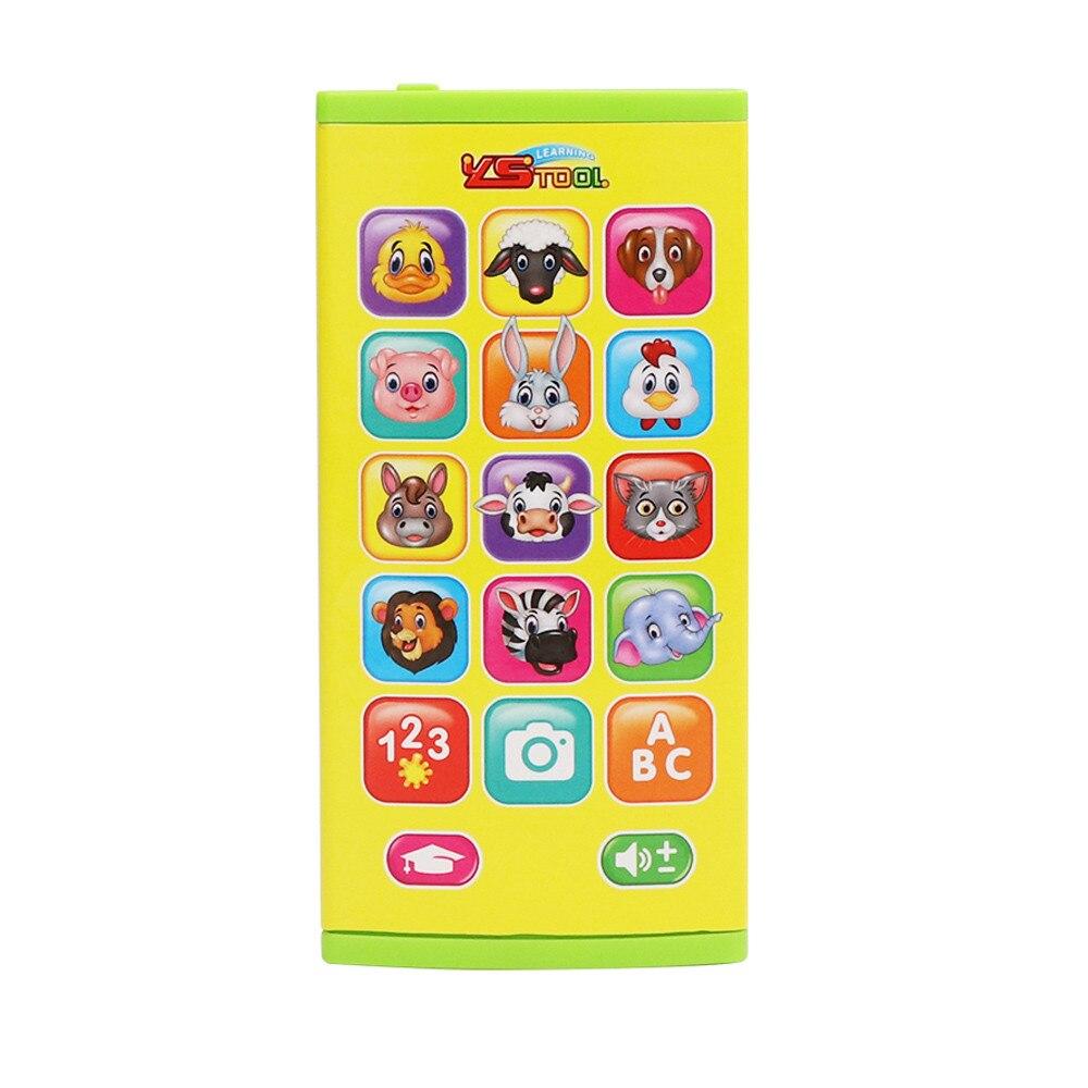 [해외]새로운 음악 학습 새로운 동물 채팅 카운트 스마트 전화 교육 장난감 드롭 배송/새로운 음악 학습 새로운 동물 채팅 카운트 스마트 전화 교육 장난감 드롭 배송
