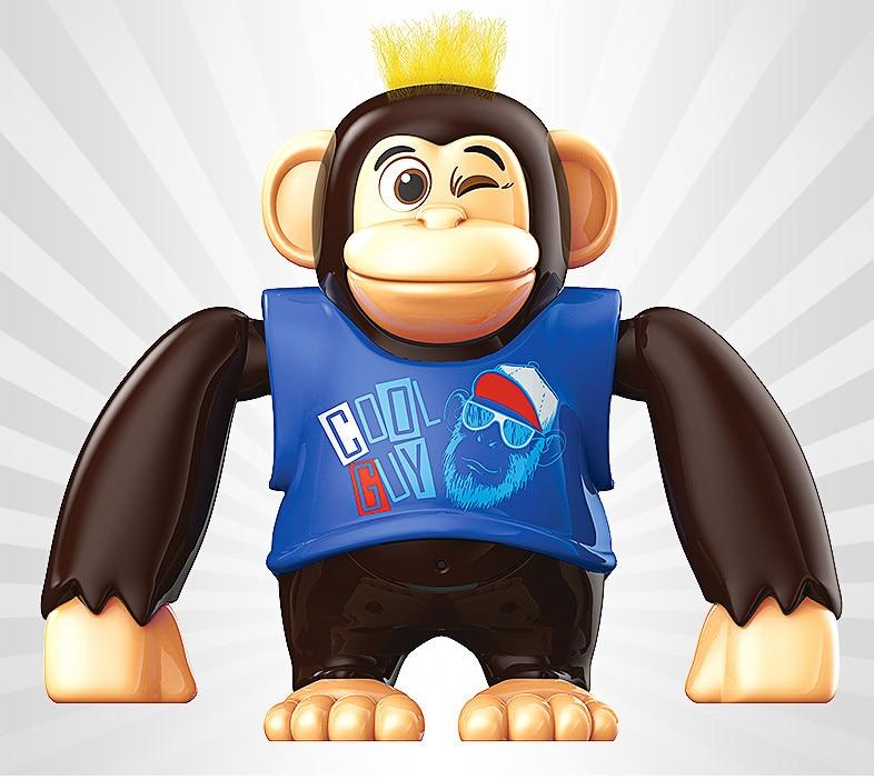 [해외]차가운 미니 춤과 도보 원숭이 완구 전자 완구 어린이를위한 대화 형 보컬 완구/차가운 미니 춤과 도보 원숭이 완구 전자 완구 어린이를위한 대화 형 보컬 완구
