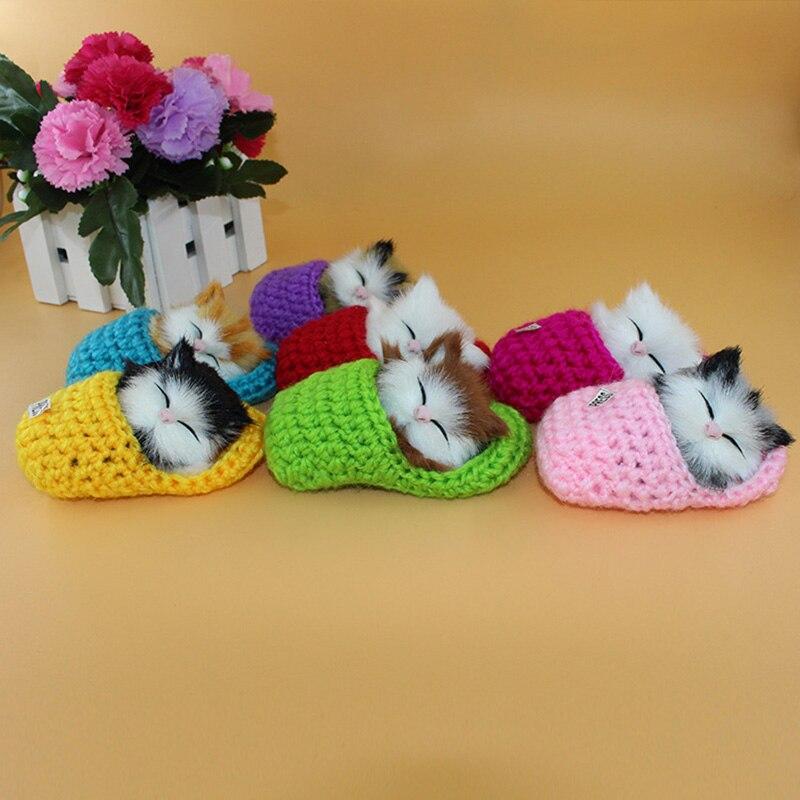 [해외]실물 같은 아이 장난감 귀여운 플러시 슬리퍼 고양이 부드러운 인형 시뮬레이션 사운드 완구 nsv775/실물 같은 아이 장난감 귀여운 플러시 슬리퍼 고양이 부드러운 인형 시뮬레이션 사운드 완구 nsv775