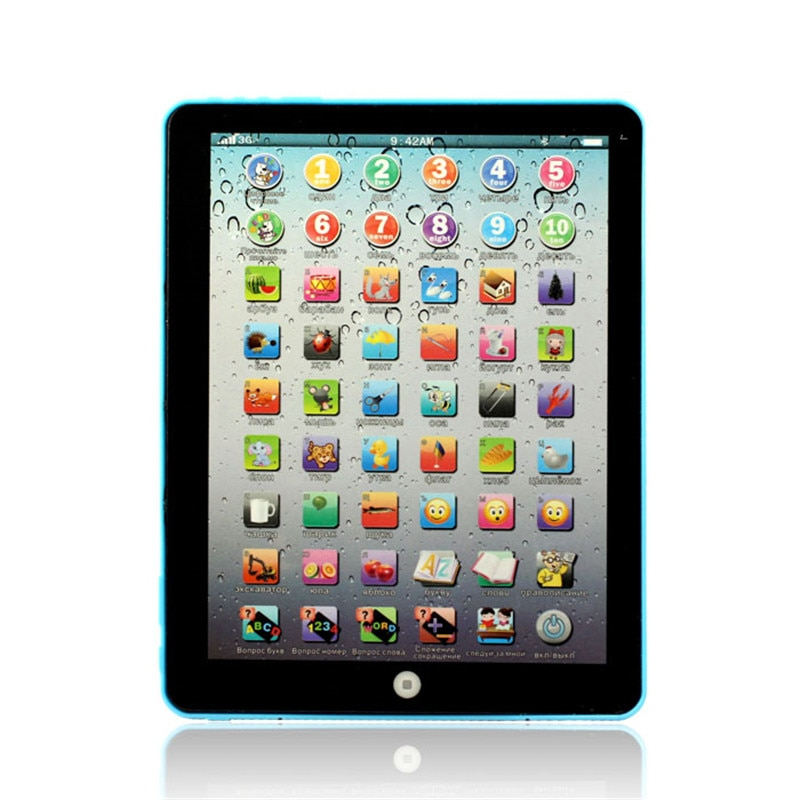 [해외]Muqgew 새로운 1 pcs 러시아어 컴퓨터 학습 교육 기계 태블릿 장난감 선물 키즈 학습 언어 levert dropship & wholesale