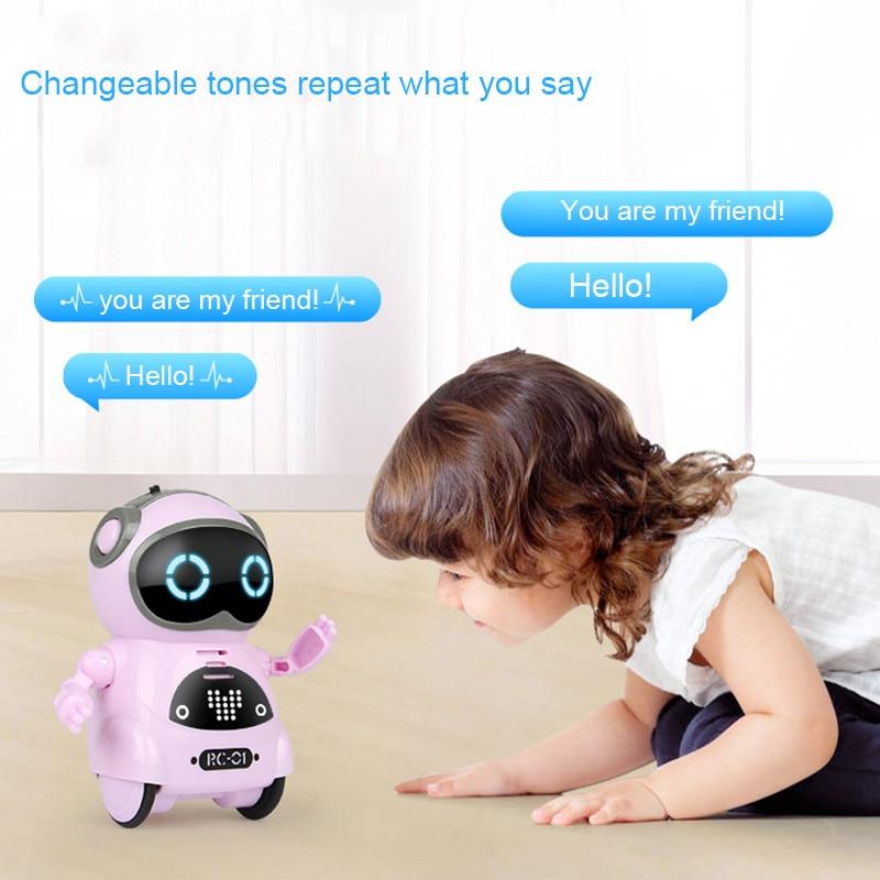 [해외]다기능 전기 음성 스마트 미니 포켓 로봇 조기 교육 상호 작용 이야기 로봇 bm88/다기능 전기 음성 스마트 미니 포켓 로봇 조기 교육 상호 작용 이야기 로봇 bm88