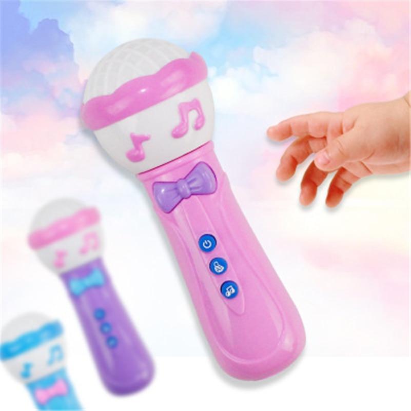 [해외]Eva2king 전기 장난감 마이크 빛나는 소리 교육 장난감 악기 아기를위한 최고의 선물