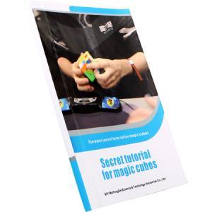 [해외]3x3x3 4x4x4 qiyi mofangge 핸드북 용 스피드 큐브 북: magic cubes 용 비밀 튜토리얼 qiyi secret tutorial book/3x3x3 4x4x4 qiyi mofangge 핸드북 용 스피드 큐브 북: magi