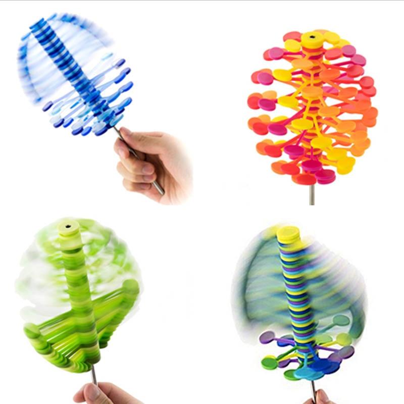 [해외]회전 롤리팝 스트레스 릴리프 장난감 나무 helicone lollipopter ro-lollipop 홈 오피스 장식 감압 장치