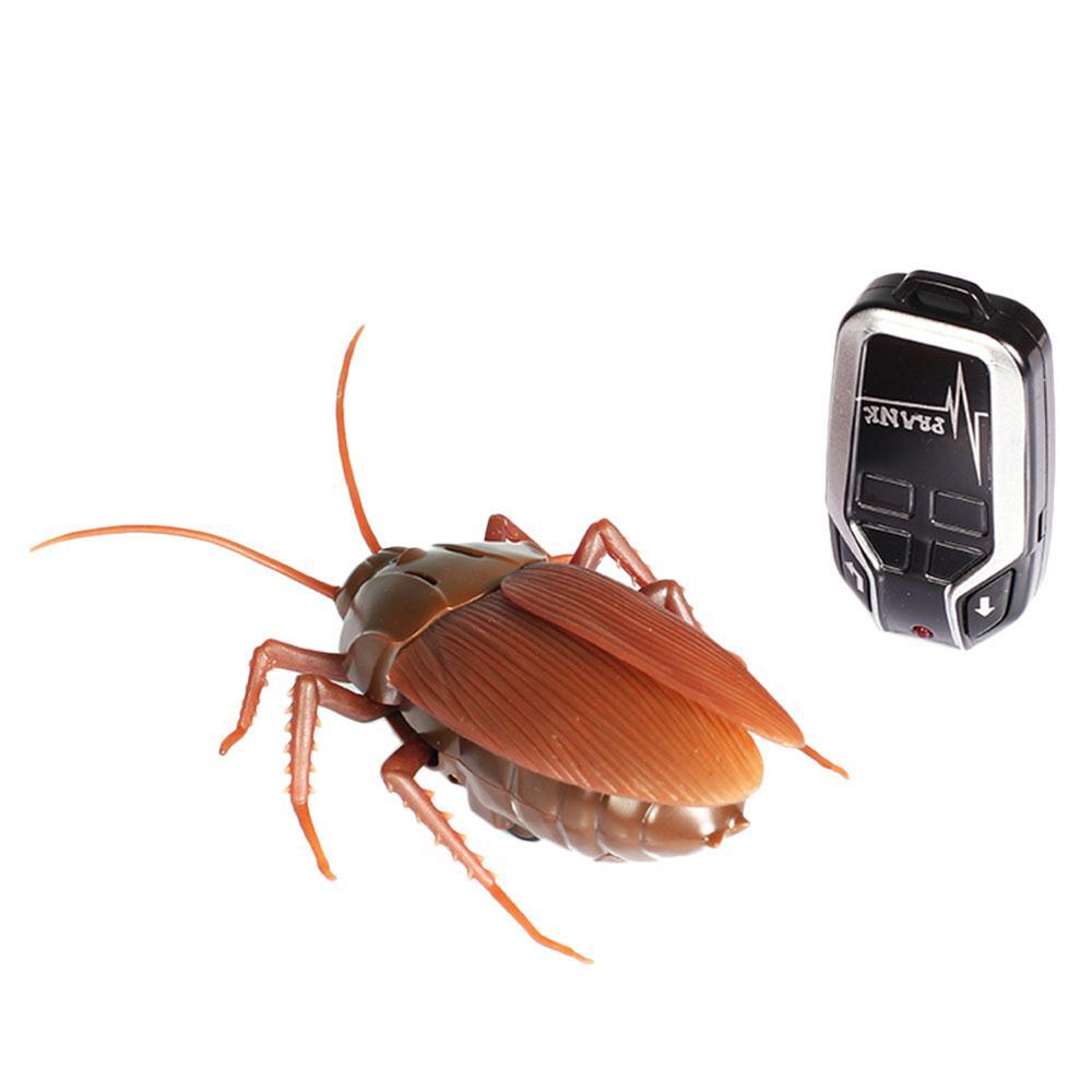 [해외]미니 원격 제어 바퀴벌레 곤충 장난감 참신 rc 적외선 전기 버그 농담 가짜 장난감 배터리와 함께/미니 원격 제어 바퀴벌레 곤충 장난감 참신 rc 적외선 전기 버그 농담 가짜 장난감 배터리와 함께