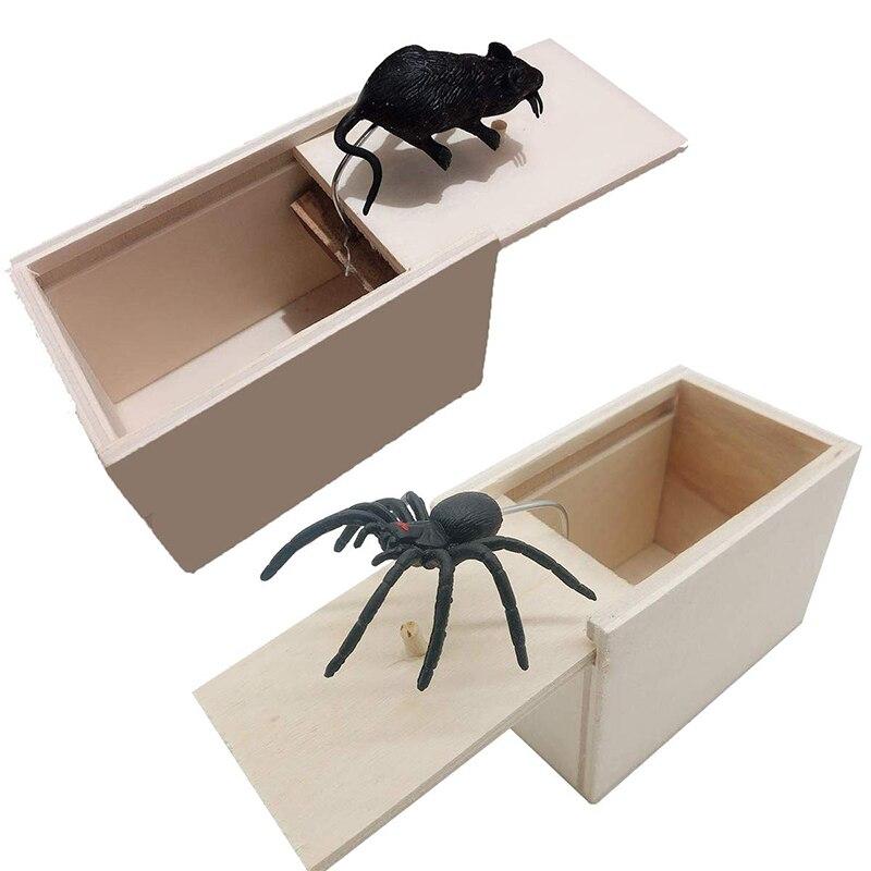 [해외]2019 New Whole Person Toy Wooden Tricky Toy Funny Toy Novelty Shock Scared Wooden Box Prank/2019 New Whole Person Toy Wooden Tricky Toy Funny Toy
