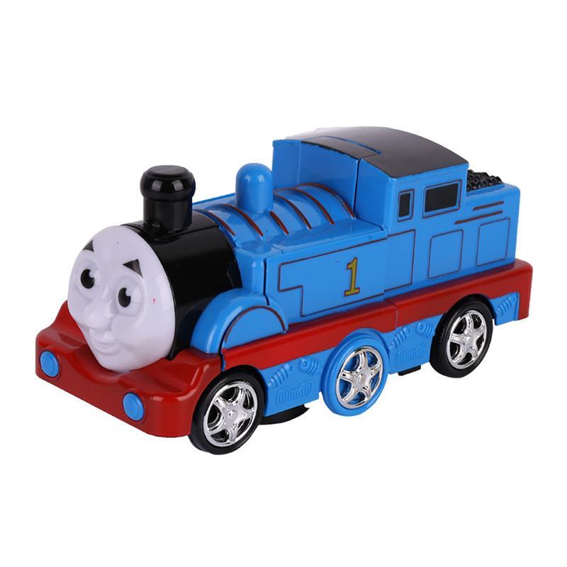 [해외]Children`s Educational Toys Electric Locomotive Deformation Train Robot Toy/Children`s Educational Toys Electric Locomotive Deformation Train Robo