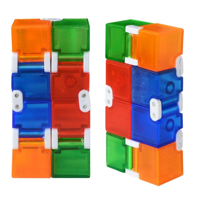 [해외]스트레스 릴리프에 대한 새로운 다채로운 플라스틱 인피니티 큐브 안티 불안 스트레스 재미있는 edc 완구 어린이를위한/스트레스 릴리프에 대한 새로운 다채로운 플라스틱 인피니티 큐브 안티 불안 스트레스 재미있는 edc 완구 어린이를위한