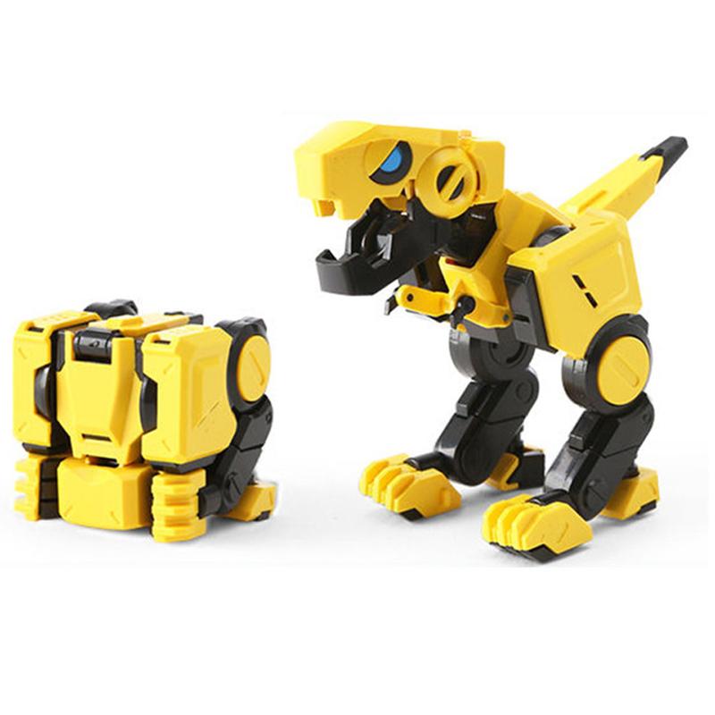 [해외]감압 큐브 매직 큐브 변환 차고 키트 공룡 변형 변형 동물 4x4x4 모델 완구/감압 큐브 매직 큐브 변환 차고 키트 공룡 변형 변형 동물 4x4x4 모델 완구
