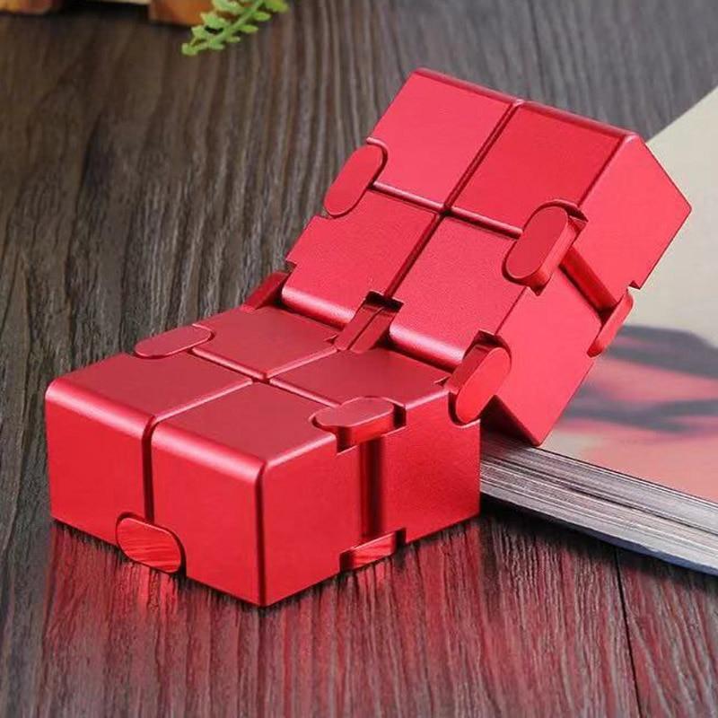 [해외]인피니티 큐브 성인을위한 금속 antistress 장난감 알루미늄 변형 마법의 무한 큐브 장난감 edc 불안에 대한 스트레스 reliever/인피니티 큐브 성인을위한 금속 antistress 장난감 알루미늄 변형 마법의 무한 큐브 장난감 edc 불안에 대한 스트
