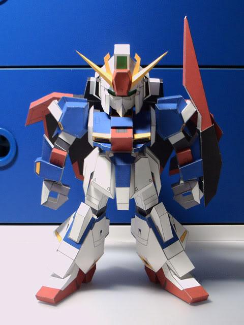 [해외]건담 msz sd-006-z는 모델/종이 인형으로 높습니다./건담 msz sd-006-z는 모델/종이 인형으로 높습니다.